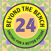 Beyond the Bench 24: Uniting For a Better Future logo