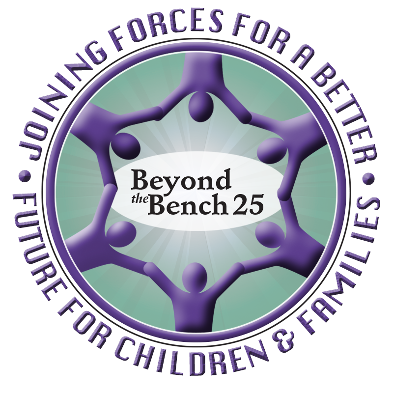 Beyond the Bench 25 Logo and link to registration page