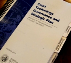 Court Technology Plan cover page