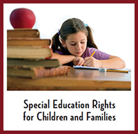 Special Education Rights for Children and Families Pamphlet Cover
