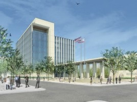 Rendering New Santa Clara Family Justice Center