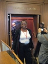 Teacher visits California Supreme Court
