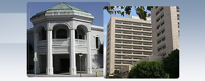 2nd District Court of Appeal courthouses in Ventura and Los Angeles
