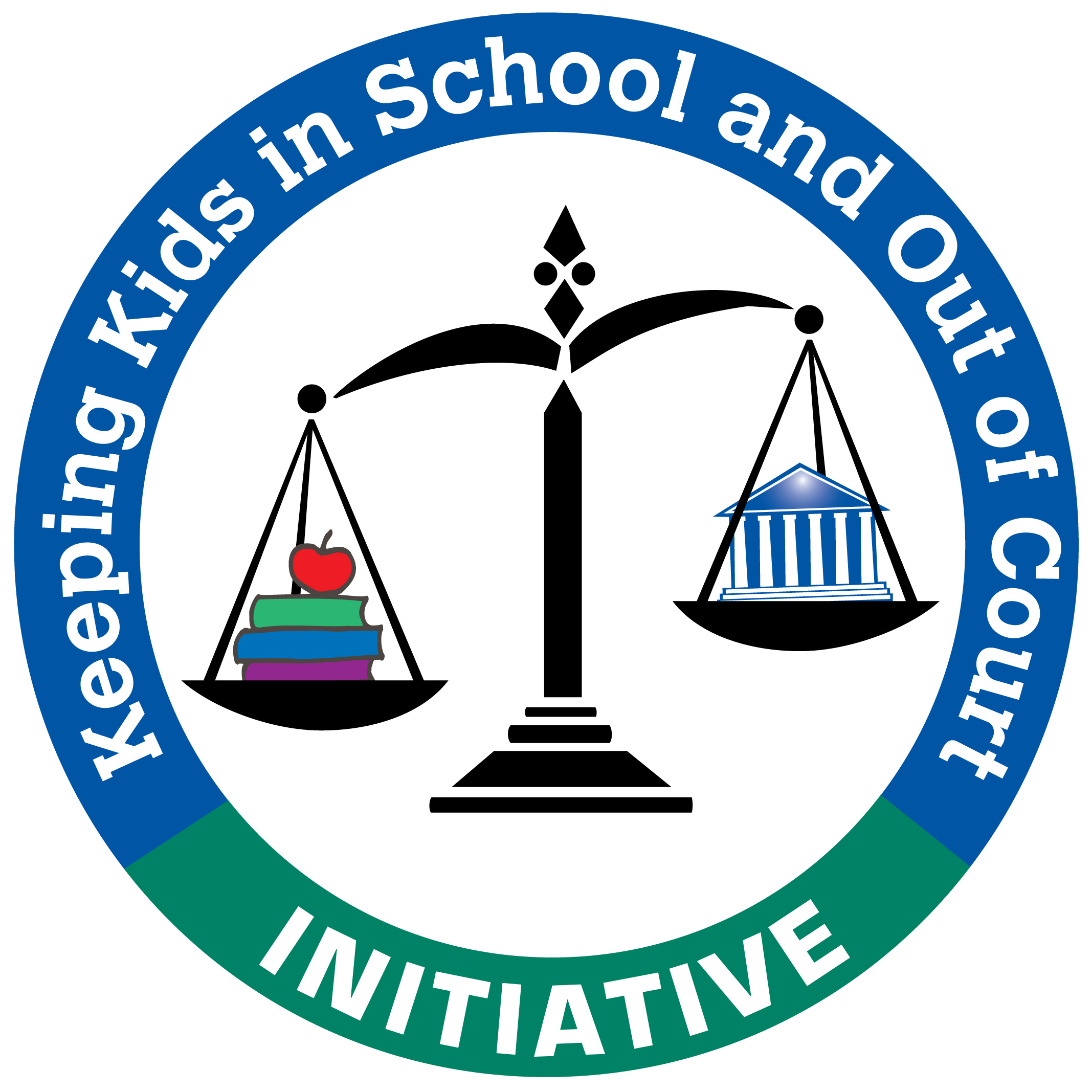Keeping Kids in School and Out of Court Initiative Logo