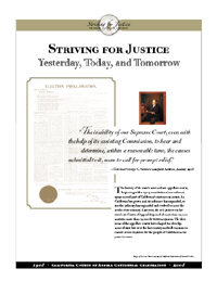 Striving for Justice Panel Image