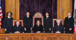 California Supreme Court Justices Image