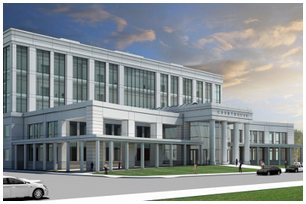 Yolo courthouse rendering