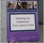 signage from hearing